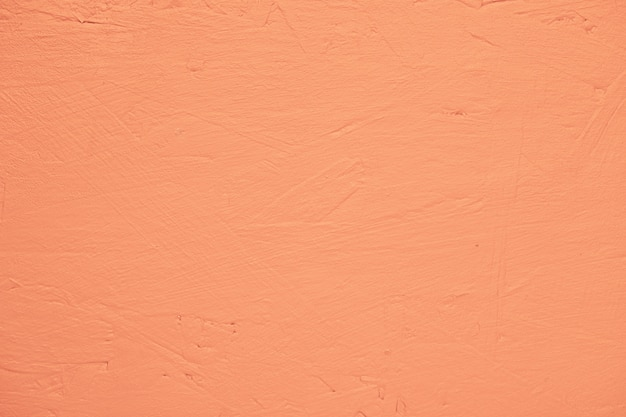 Orange painted textured wall