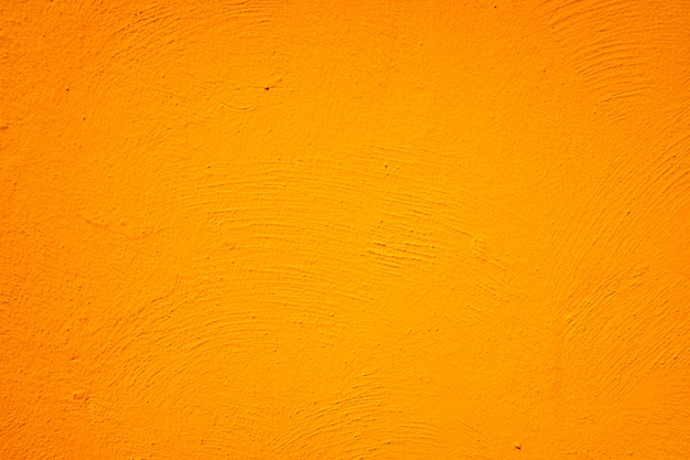 Orange painted wall with background and texture.