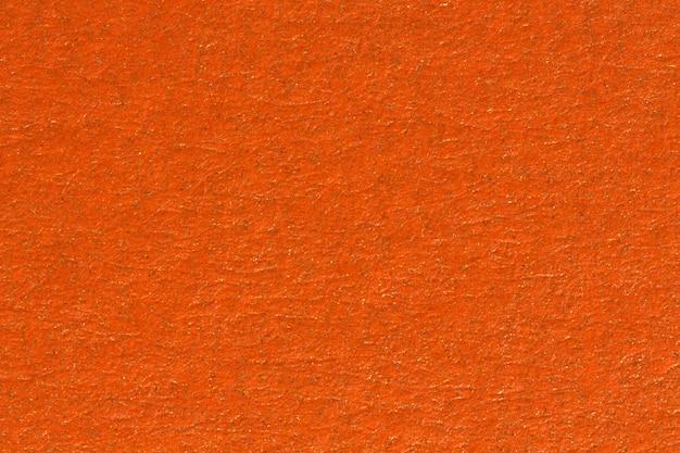 オレンジ色の紙のテクスチャの背景。高解像度の写真。