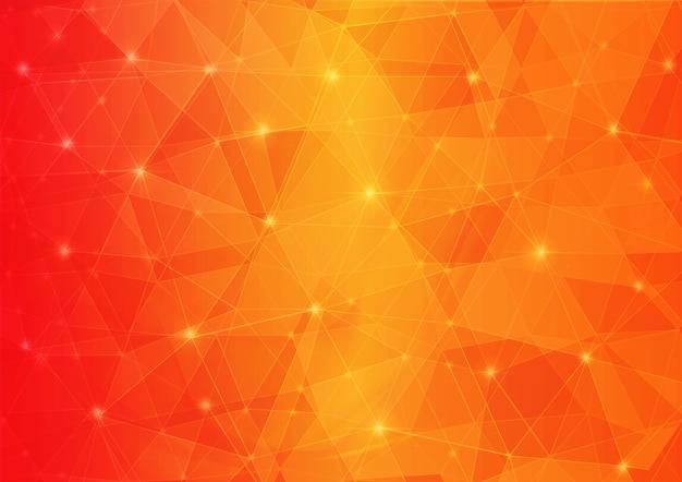 Оранжевый многоугольник