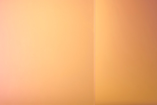 Orange product backdrop with patterned glass