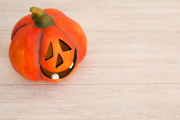 Orange pumpkin lantern