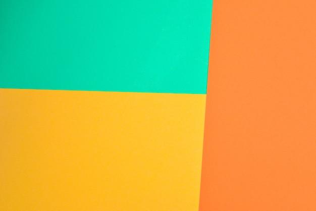 오렌지, 레드, 그린 화려한 배경입니다. 텍스트 또는 디자인을 위한 공간입니다.