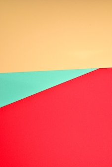 Orange, red, green colorful background. space for text or design.