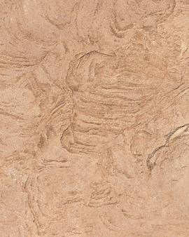 オレンジ色の岩の表面