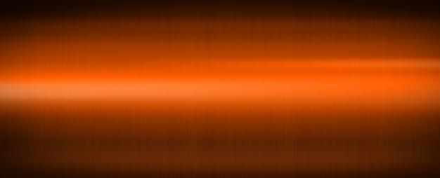 Orange shiny brushed metal. banner background texture wallpaper