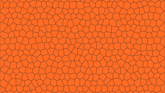 オレンジ色のシンプルなモザイク抽象的なテクスチャ壁紙の背景