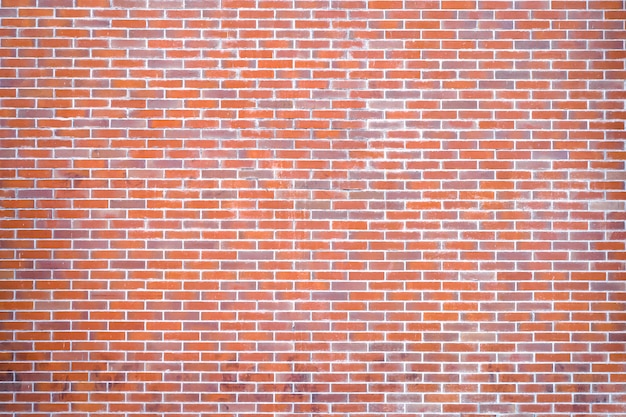 Orange tone brick wall background