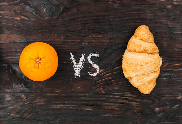 Orange vs crossiant