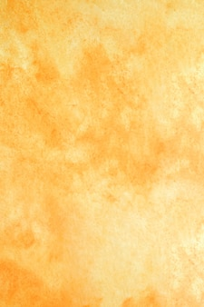 Оранжевый акварельный фон подробно