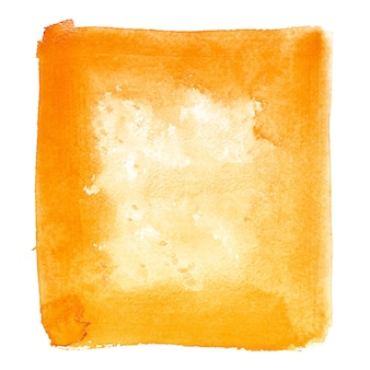Orange watercolor background - space for your own text