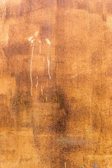 Orange worn rusty metal texture background