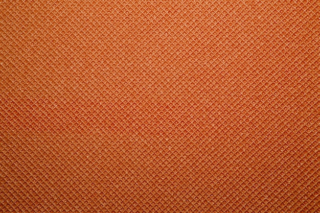 Orange yoga mat texture background. background of camping mat