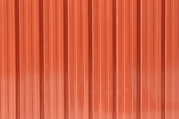Orange zinc wall texture background.