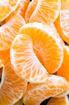 オレンジは食べる準備ができています