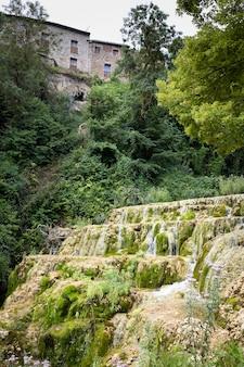 스페인 부르고스 지방의 오르바네하 델 카스티요 마을