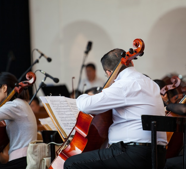 Orchestra in the street