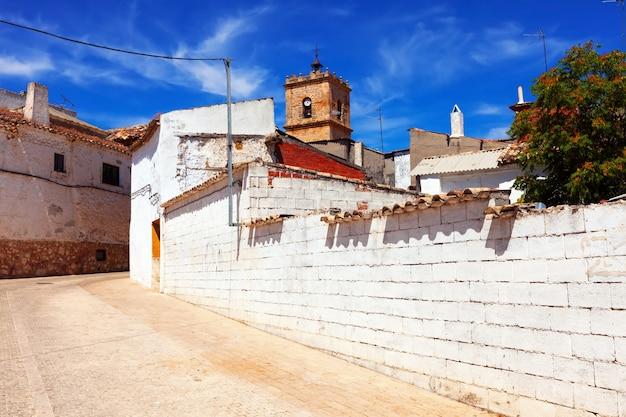 Ordinary street of el toboso Free Photo