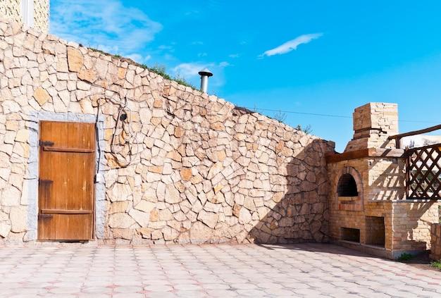 オレンブルク。国立村。アルメニアの農場