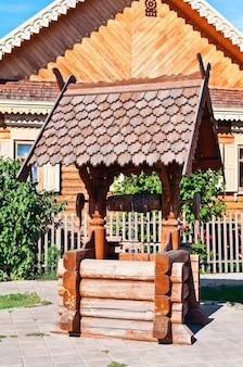 オレンブルク。国立村。ロシア人居住区。上手