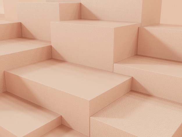 Orenge product display подиум, абстрактный фон