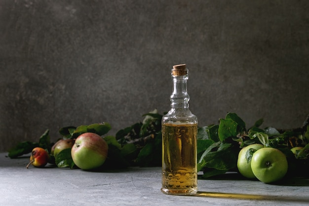 Organic apple vinegar