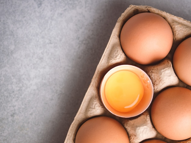 Organic chicken eggs food ingredients