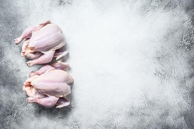 Organic farm raw whole chicken