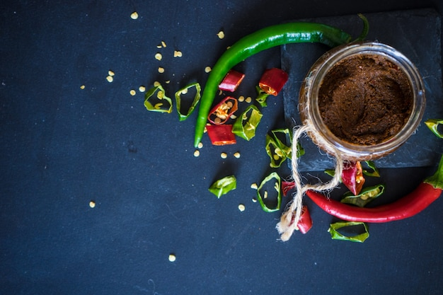 Organic food scene