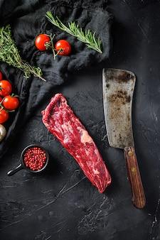 Органическое мачете или стейк из говядины мясника