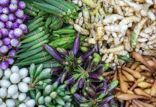 Organic vegetable herbs