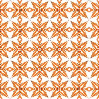 Восточные причудливые рисованной границы. апельсин чудесный летний дизайн в стиле бохо-шик. арабески рисованной дизайн. готовый принт на текстиле, ткань для купальных костюмов, обои, упаковка.