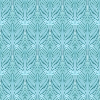Oriental seamless blue pattern. abstract.