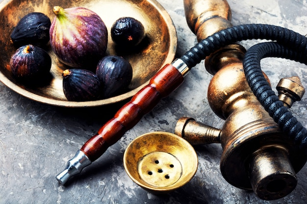 Oriental summer shisha with figs