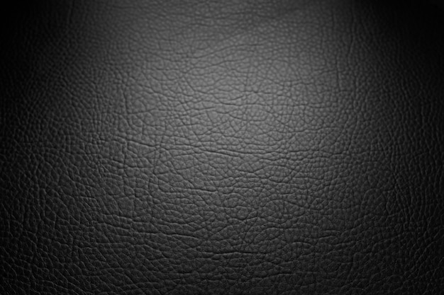 Sfondo texture originale in pelle nera