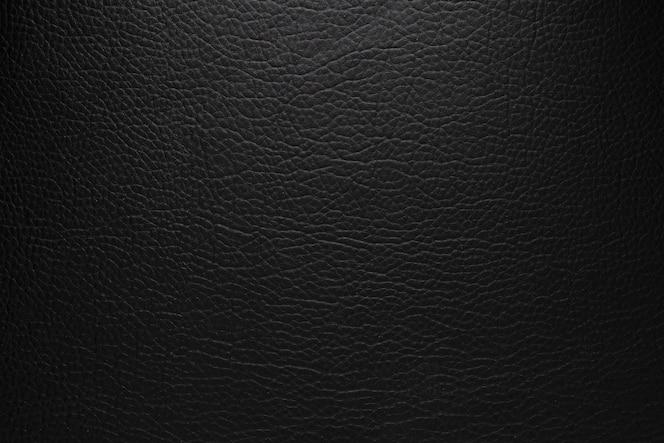 Original black leather texture background
