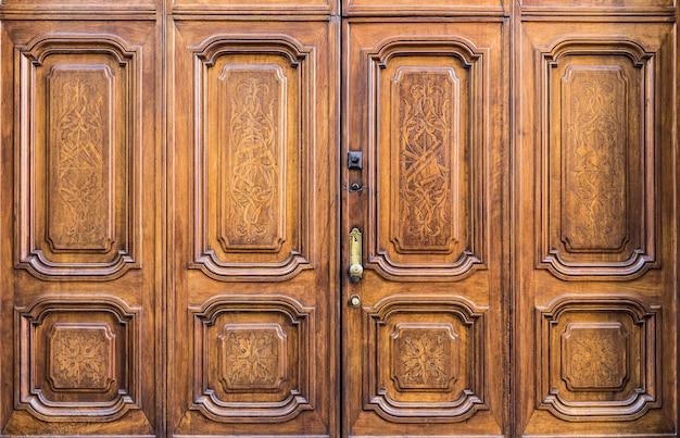 Original freemasonry door in italy -  authentic door, more than 200 years old