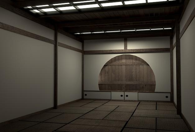 독창적 인 방 일본식, 쇼와 시대, 최고의 일본 방 디자이너와 디자인 3d 렌더링