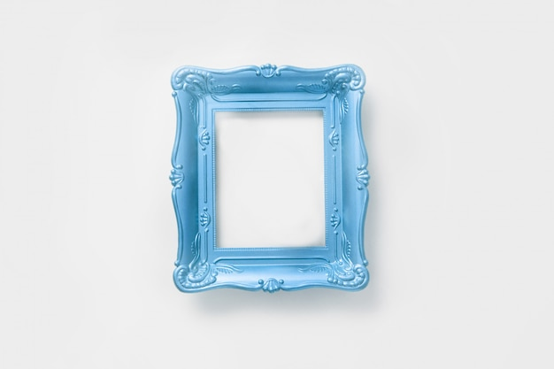 Ornamental frame for photo, vintage style