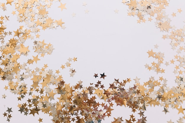 Ornamental golden stars