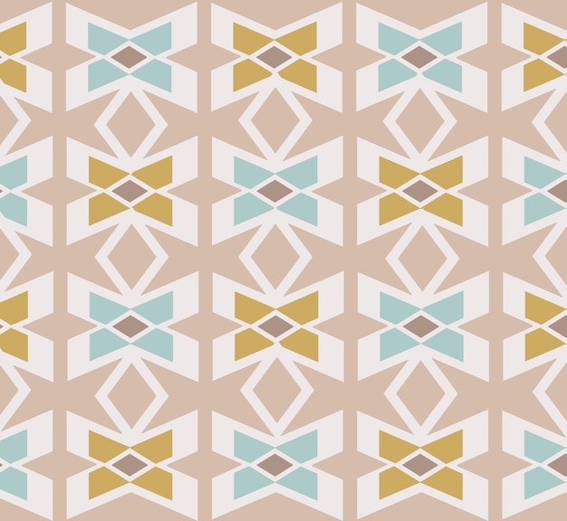 Ornamental pattern with retro colors used for fabric textile for wallpaper web page