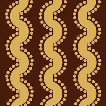 レトロな色の装飾パターン壁紙のウェブページのファブリックテキスタイルに使用