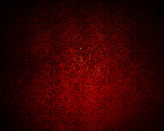 Ornamental red texture