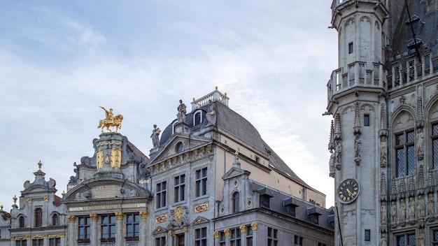 ブリュッセルのグランプラスの華やかな建物