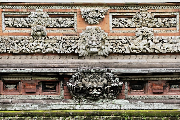 Ornate wall