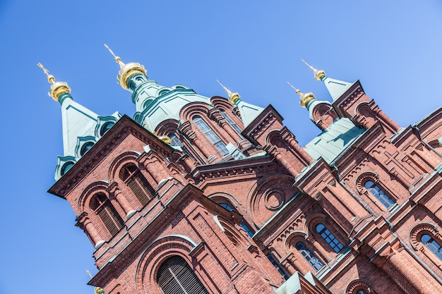 Orthodox cathedral in helsinki