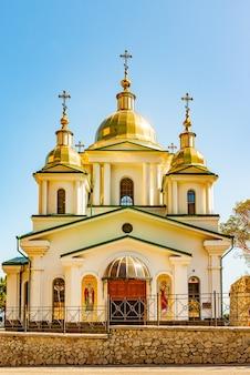 Orthodox church of the archangel michael in crimea