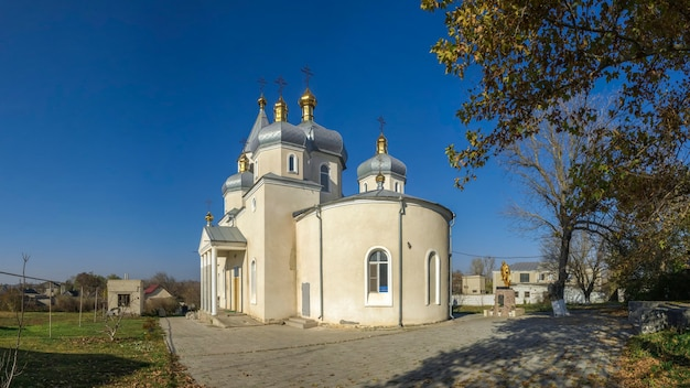 Orthodox church in dobroslav, ukraine