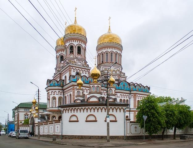 우크라이나 체르니우치의 정교회 수도원