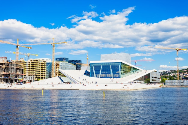 The oslo opera house or operahuset is the home of the norwegian national opera and ballet theatre, norway.